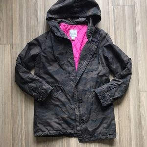Let Navy Camo utility jacket